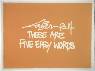 The Are Five Easy Words, Laser 3.14