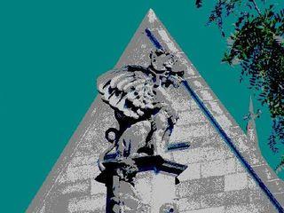 Gargoyle At Cobb Gate, Leon Sarantos