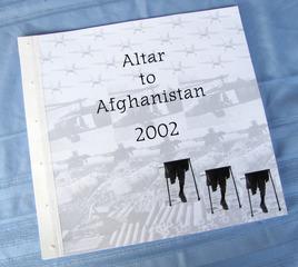 Afghanistan Altar, 2002, Cidne Hart