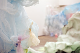 Turner Prize Installation View (2), Karla Black