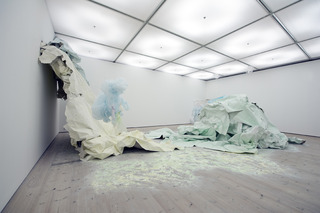 Turner Prize Installation View, Karla Black
