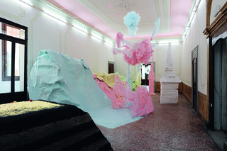 Scotland + Venice 54th Venice Biennale Installation view, Palazzo Pisani (S.Marina),Karla Black