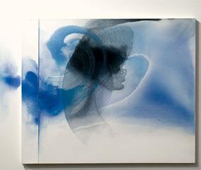White Relief / Blue Version , William Tillyer