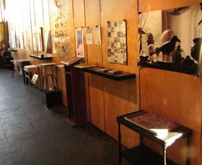 Wall of Books installation, Cidne Hart