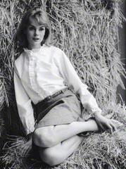 Jean Shrimpton , Sandra Lousada