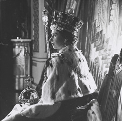 The Coronation - Queen Elizabeth II,Sir Cecil Beaton