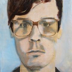 Man with Glasses, Claudia Samper