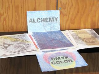 portfolio of Alchem y& CMYK Color, Cidne Hart