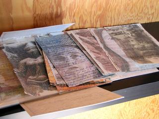 Transfers on Old Books, Cidne Hart