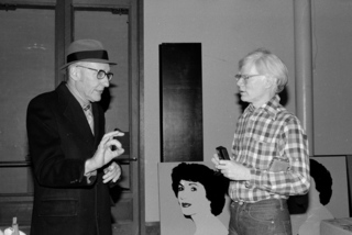 William Burroughs & Andy Warhol at The Factory,Bobby Grossman