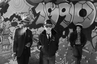 Fab 5 Freddy, Debbie Harry & Lee Quinones, Lower East Side,Bobby Grossman