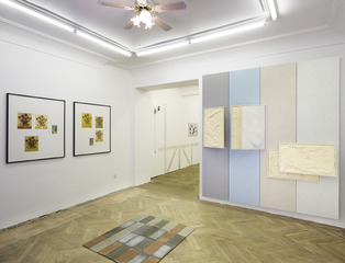 Glaze, curated by George Henry Longly, Installation View at BISCHOFF/WEISS,
