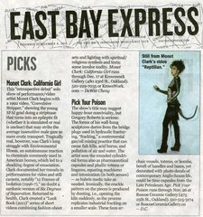 Review in East Bay Express Picks,