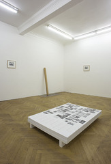 Rhombus Sectus, Installation View at BISCHOFF/WEISS,Raphal Zarka