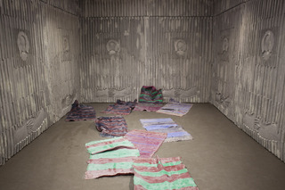The Gray Cloth (\'Tao Foam\' installation view), Mick Peter