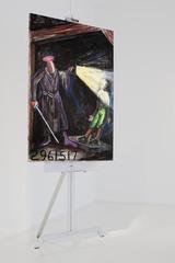 Man with Sword, Jonathan Borofsky