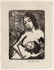 Mutter und Kind II, Otto Mueller