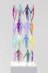Human Structures (32 Figures), Jonathan Borofsky