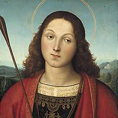 Saint Sebastian (detail) , Raphael