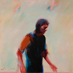 Man in Motion, 1984,Joan Savo