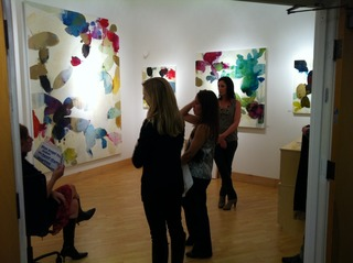 , Meredith Pardue / Gallery Opening