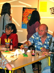 ,Exquisite Corpse Opening Party 2010
