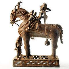 Horseman with Attendants,