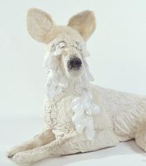 Wild Dogs: Lying Dog (detail), Jennifer Poon