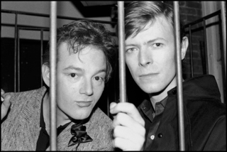 Jackie Curtis & David Bowie, Mudd Club,Bobby Grossman