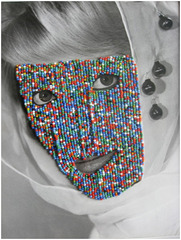 Multi-Colored Mask,Joseph Heidecker