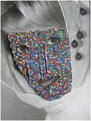 Multi-Colored Mask, Joseph Heidecker