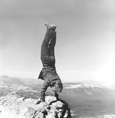 8 Natural Handstands (detail),Robert Kinmont