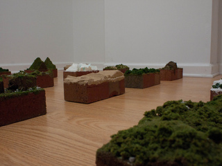 Brickscapes (detail), Travis Childers