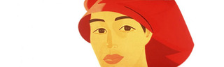 Red Cap,Alex Katz