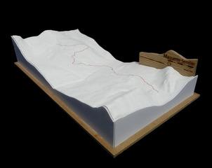 Maquette sentier, Nicolas Mussche