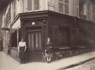 Coin, Boulevard de la Chapelle et Rue Fleury 76, 18E, Eugène Atget