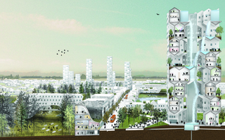Rendering of Nature-City, Salem-Keizer,