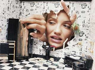 Cameron Diaz: Dollhouse Disaster, Home Invasion,David LaChapelle