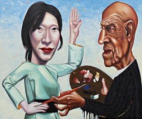 Alex Katz & Mie the Muse, Tom Sanford