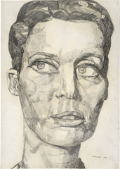 Portrait Liz Kertelge , Eugen Schönebeck