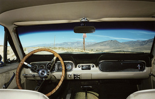 Mustang Interior, Nevada Desert,Jane Hilton