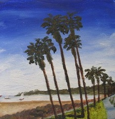 Santa Monica Beach, Kathleen McMahon