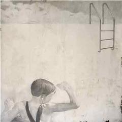 ladder in, Jane Hambleton