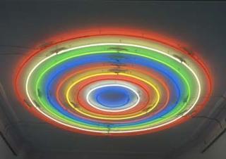 Untitled (Target), John Armleder