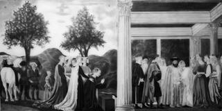 After Piero della Francesca, Sarah Leahy