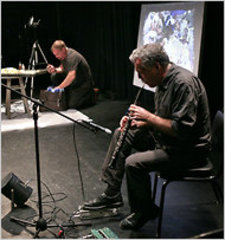 """INTRICATE SIMPLICITY"" A TIME-RELEASED PERFORMANCE, Ken Cro-Ken & Matt Sullivan"