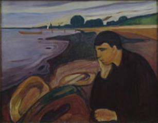 Melancholie , Edvard Munch