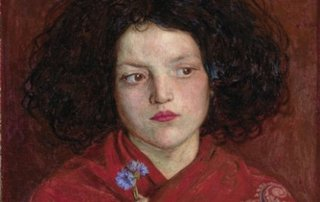 The Irish Girl,Ford Madox Brown