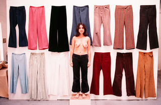 All the Pants I Had Except the Ones I Was Wearing (Front and Back), Ilene Segalove