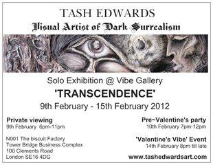\'Transcendence\' ~ The Enlighened Darkness, Tash Edwards